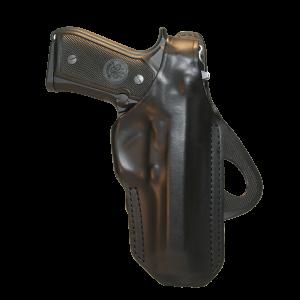 Blackhawk 420603BKR CQC Angle Adjustable Paddle Holster Glock 17/22/31 Polymer Black - 420603BKR