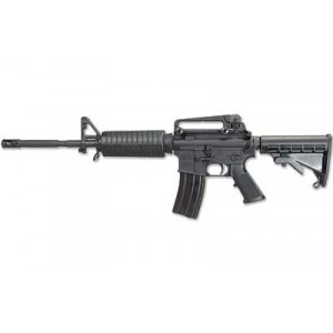 """Windham Weaponry WW-15 MPC .223 Remington/5.56 NATO 30-Round 16"""" Semi-Automatic Rifle in Black - R16M4A4T"""