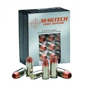 Magtech Ammunition First Defense .380 ACP Solid Copper Hollow Point, 77 Grain (20 Rounds) - FD380A