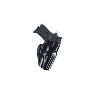 Galco International Stinger Right-Hand Belt Holster for Springfield XD-S in Black Leather - SG662B