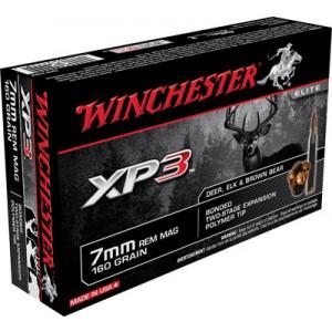Winchester 7mm Remington Magnum Supreme Elite XP3, 160 Grain (20 Rounds) - SXP7RM