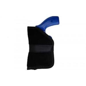 "Blackhawk Sportster, Pocket Sportster Holster, Fits Small Revolver, 2"", Ambidextrous, Black B990222bk - B990222BK"