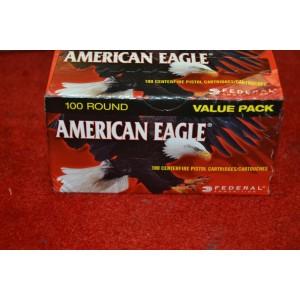Federal Cartridge American Eagle .45 ACP Full Metal Jacket, 230 Grain (100 Rounds) - AE45A100