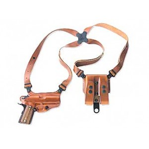 """Galco International Miami Classic Right-Hand Shoulder Holster for Walther PPK/PPKS in Tan (4"""") - MC204"""