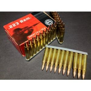 Geco .223 Remington/5.56 NATO Full Metal Jacket, 55 Grain (50 Rounds) - 2561400050