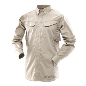 Tru Spec 24-7 Men's Long Sleeve Shirt in Khaki - X-Large