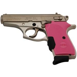 "Bersa Thunder.380 ACP 7+1 3.5"" Pistol in Nickel - T380NKLCT"