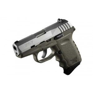"""SCCY CPX-2 9mm 10+1 3.1"""" Pistol in Satin and Flat Dark Earth - CPX-2 TTDE"""
