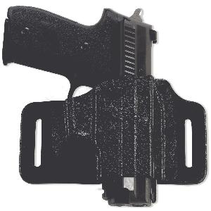 "Galco International TacSlide Right-Hand Belt Holster for J-Frame in Black (2.125"") - TS158B"