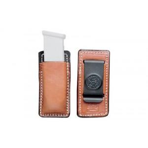 Desantis Gunhide Secure Magazine Pouch Magazine Pouch in Tan Leather - A47TJJJZ0