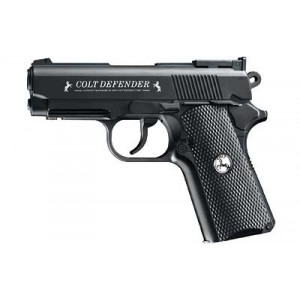 "Umarex Colt Defender, .177 Bb, 4.3"" Barrel, Black, 16rd, 440 Feet Per Second 2254020"