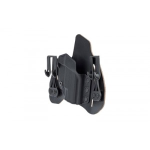 Blackhawk Leather Tuckable Pancake Pancake Holster for Springfield XD-S in Leather (Right) - 422034BK-R
