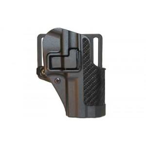 "Blackhawk CQC Serpa Right-Hand Multi Holster for Beretta Px4 Storm in Black Carbon Fiber (4"") - 410028BK-R"