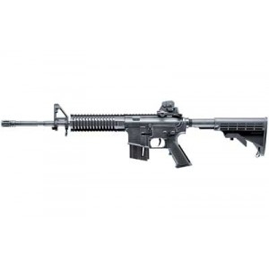 """Walther USA Colt M4 Ops .22 Long Rifle 10-Round 16.2"""" Semi-Automatic Rifle in Black - 576030210"""