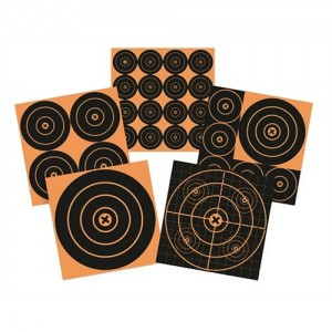 """Birchwood Casey 48 Pack 3"""" Adhesive Paper Targets BB3"""