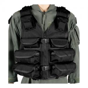 Omega Elite Vest Medic/Utility  Omega Elite Vest Medic/Utility, Black, Made of heavy-duty nylon mesh for maximum breathability , Adjustable for length and girth, #10YKK Vislon zippers, Heavy duty webbing on back for attaching S.T.R.I.K.E. pouches