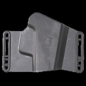 Glock H002639 Sport/Combat Holster Glock 20/21 w/Trigger Guard Polymer Black - H002639