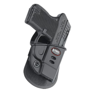 Fobus USA Evolution Right-Hand Paddle Holster for Kel-Tec P3At, P32 in Black - KT2G