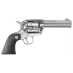 """Ruger Vaquero .357 Remington Magnum 6-Shot 4.62"""" Revolver in High Gloss Stainless (SASS) - 5133"""