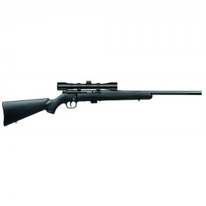 """Savage Arms Mark II FVXP .22 Long Rifle 5-Round 21"""" Bolt Action Rifle in Blued - 29200"""