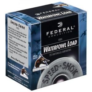 "Federal Cartridge Speed-Shok Waterfowl .12 Gauge (3.5"") BBB Shot Steel (250-Rounds) - WF134BBB"