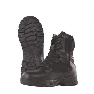 TruSpec - 9  Side Zip Tac Assault Boot Color: Black Size: 8 Width: Regular