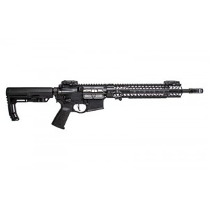 """Spike's Tactical Black Assassin V2 .223 Remington/5.56 NATO 30-Round 16"""" (14.5"""" with Pinned Brake) Semi-Automatic Rifle in Black - STR5691-M2S"""