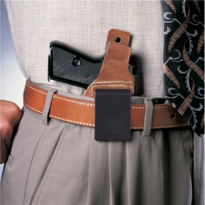 WAISTBAND INSIDE THE PANT HOLSTER Gun FIt: S&W - J FR 60 2 1/8 .357 .38 Color: BROWN Hand: Left Handed - WB161