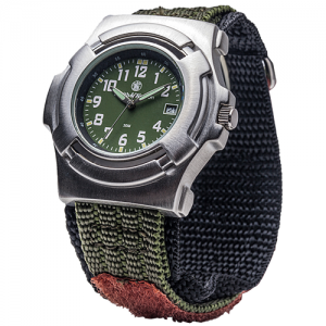 Basic Watch - Nylon Strap, Olive drab