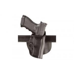 Safariland Model 568 Right-Hand Belt Holster for Beretta 92 Vertec, 96 Vertec in Black Smooth Safari Laminate - 568-49-411