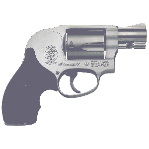 """Smith & Wesson 638 .38 Special 5-Shot 1.87"""" Revolver in Stainless (Airweight) - 150468"""