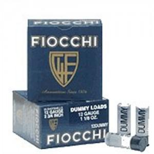 Fiocchi 38 Rimmed Revolver Blank 38BLANK