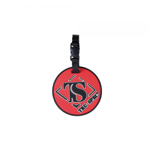 5ive Star Gear TS Logo Stainproof Logo Luggage Tag in Red/Black - 6670000