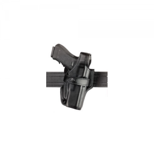 070 SSIII Mid-Ride Duty Holster Finish: Basket Weave Black Gun Fit: Smith & Wesson 10K Medium Frame (4  bbl) Hand: Right Size: Standard Belt Loop - 070-24-181
