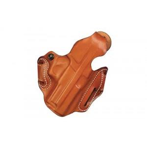 """Desantis Gunhide 1 Thumb Break Scabbard Right-Hand Belt Holster for FN Herstal FNX 40 in Tan Leather (4"""") - 001TA30Z0"""