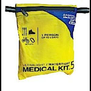Adventure Medical Kits Ultralight/Watertight .5 Medical Kit 1 Person 01250292