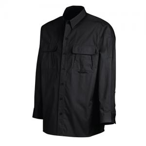 Dickies Vented Ripstop Men's Long Sleeve Shirt in Black - Large