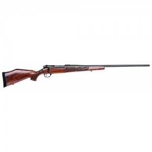 "Weatherby Mark V Lazermark .270 Weatherby Magnum 3-Round 26"" Bolt Action Rifle in Black - LMM270WR6O"