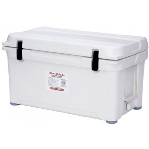 Engel USA DeepBlue Cooler 80 Quart Storage Cooler 8-10 Day Cooling Time Tan ENG80