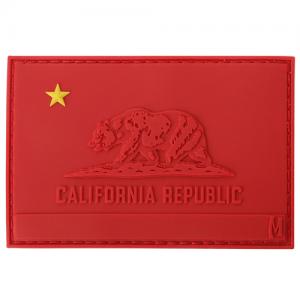 Communist Kalifornia Flag Patch (Red) 3  x 2