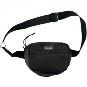 Bulldog Case Company Pistol Holster Waterproof Waist Bag in Black Nylon - BD850