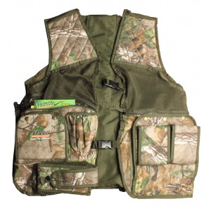Primos Hunting Calls Safety Vest in Mesh and Treehide Camouflage - 2X-Large/3X-Large