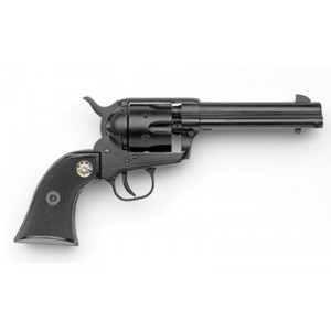 "Chiappa Single Action Army 22-10 .22 Long Rifle/.22 Winchester Magnum 10-Shot 5.5"" Revolver in Black - CF340-160D"