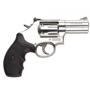 "Smith & Wesson 686 Plus .357 Remington Magnum 7-Shot 3"" Revolver in Satin Stainless (Distinguished Combat Magnum) - 164300"
