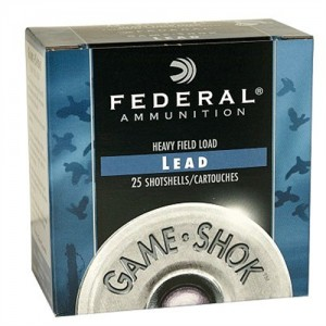 "Federal Cartridge Game-Shok Heavy Field .12 Gauge (2.75"") 6 Shot Lead (250-Rounds) - H1256"