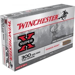 Winchester Super-X .300 Winchester Magnum Power-Point, 150 Grain (20 Rounds) - X30WM1