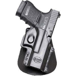 Fobus USA Roto Paddle Right-Hand Paddle Holster for Glock 20, 21, 37 in Black - GL3RP