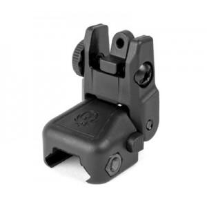 Ruger & Company AR-15 Rapid Deploy Detachable Folding Rear Sight Black Plastic 90415