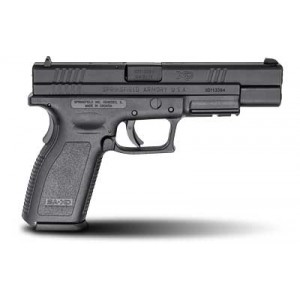 "Springfield XD9 9mm 10+1 5"" Pistol in Fired Case/Matte - XD9401"