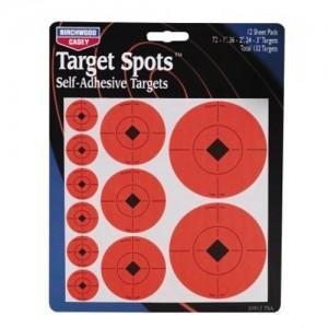 "Birchwood Casey Target Spots Assortment 72-1""/36-2"" & 24-3"" 33928"